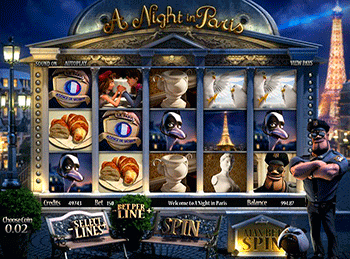 A Night In Paris 1